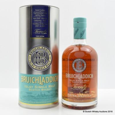 Bruichladdich 20 Year Old Third Edition