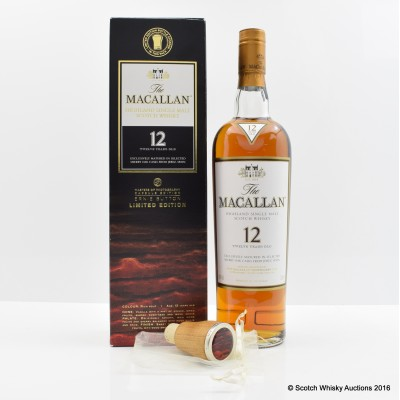 Macallan 12 Year Old Masters of Photography Ernie Button Capsule Edition