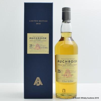 Auchroisk 25 Year Old 2016 Release