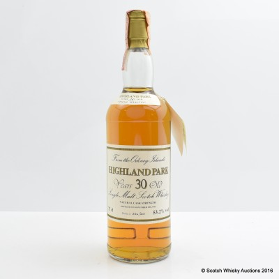 Highland Park 1955 30 Year Old Cask Strength 75cl