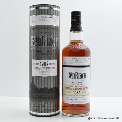 BenRiach 1984 27 Year Old Tawny Port Hogshead