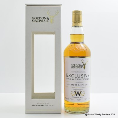 Ardmore 1993 Gordon & Macphail Exclusive for Whisky-Online