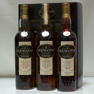 Glengoyne Millennium Selection 3 x 70cl