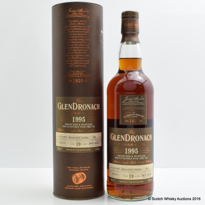GlenDronach 1995 19 Year Old Single Cask #4943
