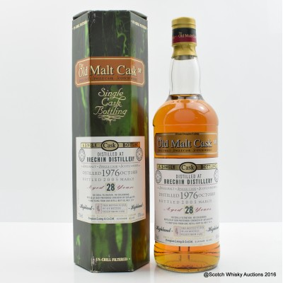 Brechin 1976 28 Year Old Old Malt Cask 75cl