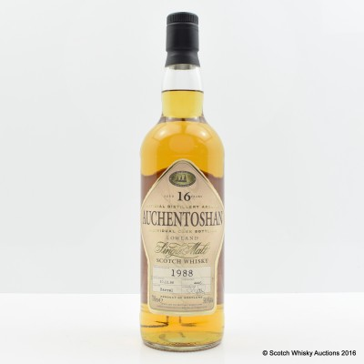 Auchentoshan 1988 16 Year Old Single Cask