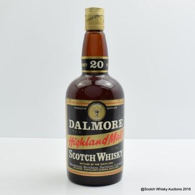 Dalmore 20 Year Old 26 2/3 Fl Oz