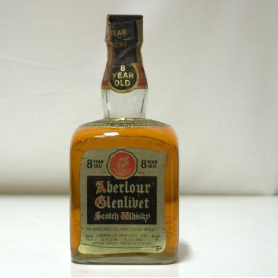 Aberlour Glenlivet 8 Year Old Dumpy Bottle 75cl