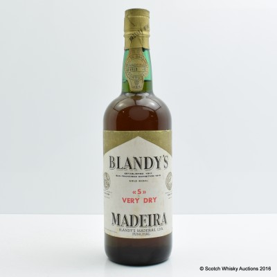 Blandy's Dry Madeira 75cl