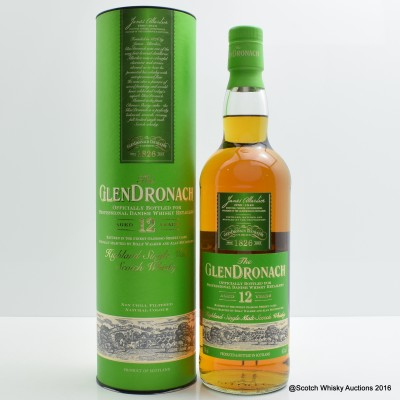 GlenDronach 12 Year Old Danish Release