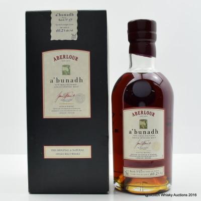 Aberlour A'Bunadh Batch #17