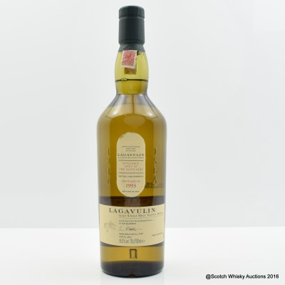 Lagavulin 1993 Distillery Only