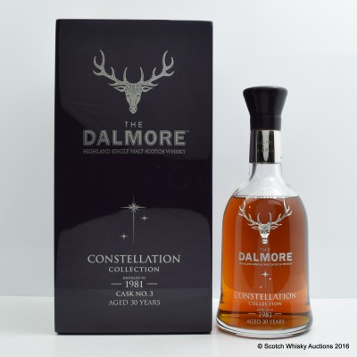 Dalmore Constellation Collection 1981 30 Year Old