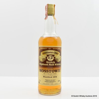 Mosstowie 1970 12 Year Old Connoisseurs Choice 75cl