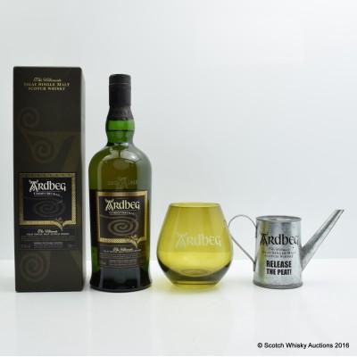 Ardbeg Corryvreckan, Ardbeg Glass & Mini Water Can