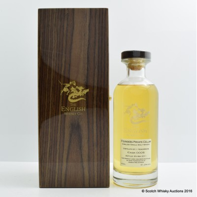 English Whisky Co Founders Private Cellar Cask #0005