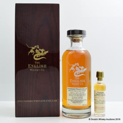 English Whisky Co Founders Private Cellar Cask #859
