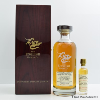 English Whisky Co Founders Private Cellar Cask #787