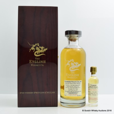 English Whisky Co Founders Private Cellar Cask #116