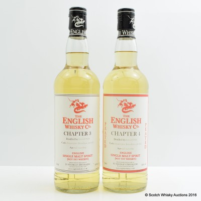 English Whisky Co Chapter 3 & Chapter 4