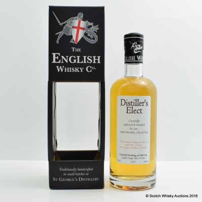 English Whisky Co Distiller's Elect