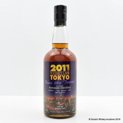 Kawasaki 1982 Whisky Live 2011 Tokyo