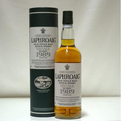Laphroaig 1989 Vintage 17 Year Old
