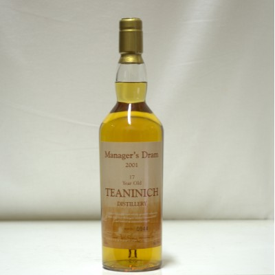 Teaninich 2001 17 Year Old Manager's Dram
