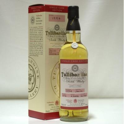 Tullibardine Single Cask Edition