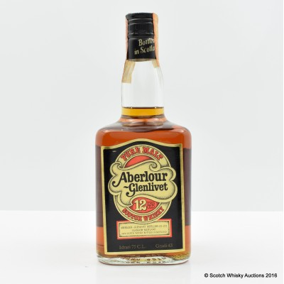 Aberlour-Glenlivet 12 Year Old 75cl
