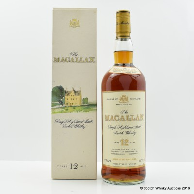 Macallan 12 Year Old Old Style 1L