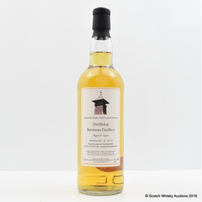 Benrinnes 1997 17 Year Old Whisky Broker