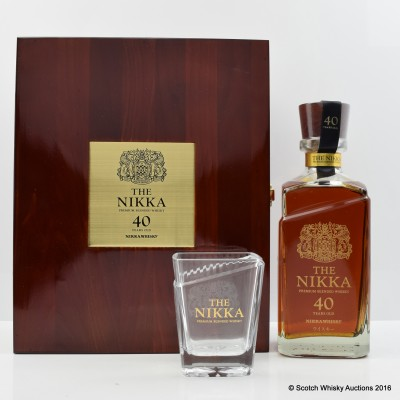Nikka 40 Year Old 80th Anniversary