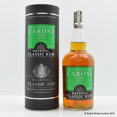 Caroni 1998 Trinidad Rum Bristol Spirits