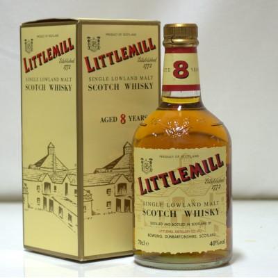 Littlemill 8 Year Old Dumpy Bottle