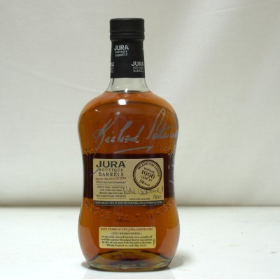 Jura Boutique Barrel Select Signed 2010 Whisky Festival