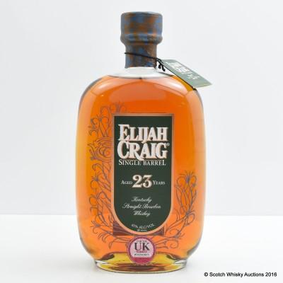 Elijah Craig 23 Year Old Single Barrel 75cl