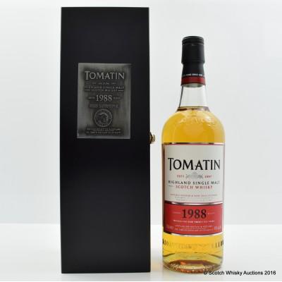 Tomatin 1988 25 Year Old Batch #1