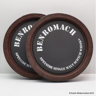 Benromach Novelty Plastic Cask End x 2