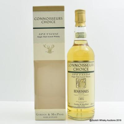 Benrinnes 1991 Connoisseurs Choice