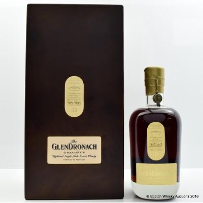 GlenDronach Grandeur 31 Year Old Batch #1
