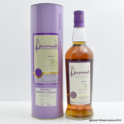 Benromach Tokaji Wood Finish