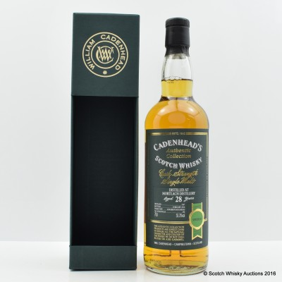 Mortlach 1987 28 Year Old Cadenhead's