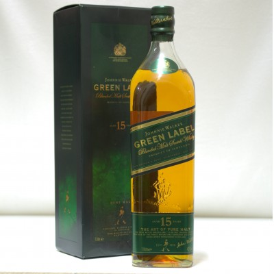 Johnnie Walker 15 Year Old Green Label 1L
