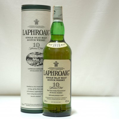Laphroiag 10 Year Old 1L