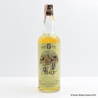 Cardhu 5 Year Old Pure Malt 75cl