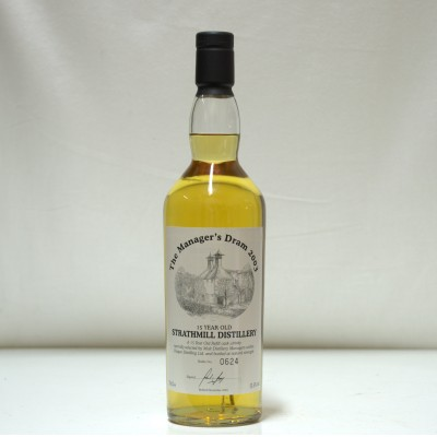 Strathmill 15 Year Old Manager's Dram