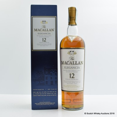 Macallan 12 Year OLd Elegancia 1L