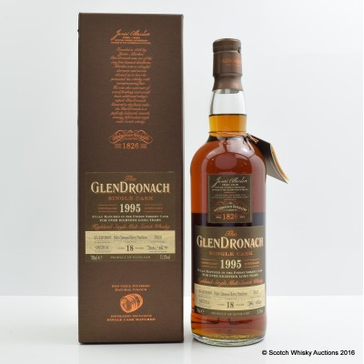 GlenDronach 1995 18 Year Old Single Cask #3025