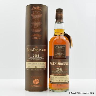 GlenDronach 2002 10 Year Old Single Cask #4526